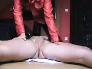 Femme allemande fait le sexe anal